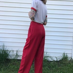 Pants & Jumpsuits - silk trousers